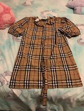 burberry dress girls Size 14