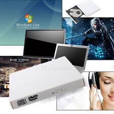 Externe USB 2.0 CD Graveur DVD Optique Lecteur DVD-ROM CD-RW Pour PC Laptop Mac