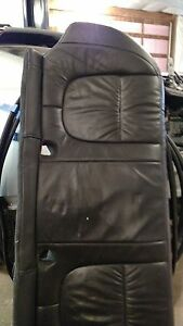 Jaguar XF rear black seat complete with bolsters
