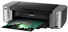 NEW Canon Pixma Pro-100 Wireless Color Professional Photo Inkjet Printer w/ inks