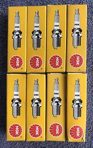 Set Of 8 NGK Spark Plugs BKR6EKUB **Qty X 8** Suit Audi Volkswagen Volvo Renault