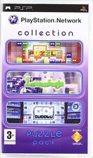PLAYSTATION NETWORK COLLECTION PUZZLE PACK PSP