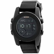 Nixon Men's Unit 40 Digital Watch With Silicone Band