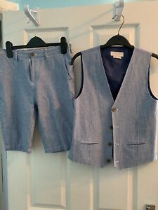 Boys Shorts & Waistcoat Set Age 13. John Lewis