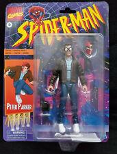 Spider-Man Retro Marvel Legends Peter Parker 6-inch Action Figure Hasbro