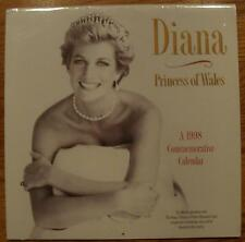 1998 Diana Princess of Wales Commemorative Calendar New and Sealed