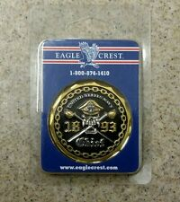 NEW United States U.S. Navy Chief 1893 Challenge Coin 2570. Free Shipping