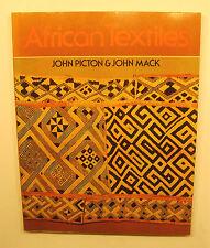 african textiles john mack und john picton (1979, taschenbuch)