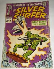 marvel comics 1968 The SILVER SURFER # 2 age stan lee john buscema