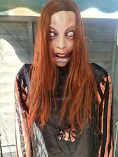 Zombie Halloween Prop Seasonal Visions / animated talking clown bonus decoration