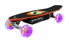 Maverix USA Monster 100W Electric Skateboard with LED Wheels Multicolor 31x12x8