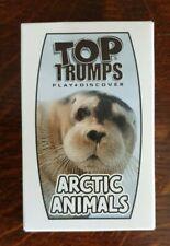 Arctic Animals Mcdonald's Top Trumps Cards/Game