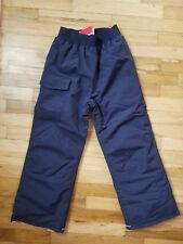 NWT HANNA ANDERSSON SNOWBOARD SKI INSULATED WATERPROOF SNOW PANTS NAVY 140 10