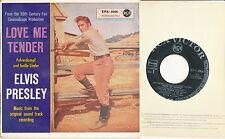 "Elvis Presley EP deutsche RCA Victor EPA-4006 ""Love Me Tender"" V2"