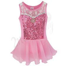 Ballet Leotard Tutu Skirt Girls Kid Toddler Princess Dress Up Dance Wear Costume