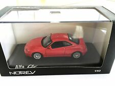Alfa Romeo GTV 2003 - Red 1:43 NOREV- AUTO MODELLBAU SAMMLUNG 790051