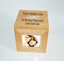 Modern Wooden Personalised Photo & Picture Frames