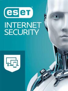 ESET Internet Security 2021 - 1 PC/1 Jahr - Lizenz per Nachricht dt.Fachhändler