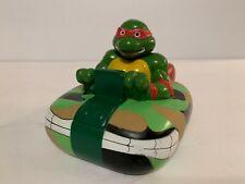 Vintage 1991 Ducair Tsumura Ninja Turtle TMNT Raphael Bathtub Toys  RARE