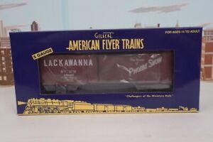American Flyer S Gauge No.6-44074 Lackawanna & Western 47897 Boxcar NIB