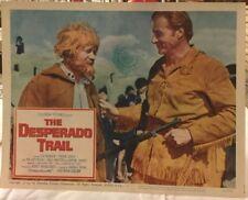 BARKER LEX in The Desperado Trail1966 Original Movie Card