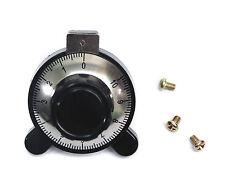 1pc SB360-A Bakelite Precise For VR φ6mm 6mm Screw Type Knob 6-3/4 Turns SENTOP