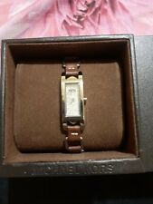 Authentic Michael Kors Leather Studded Watch LOW BID! SALE