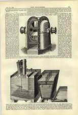 1884 Aland Lambeth MINIERA Della Ventola Soffiatore maignen ADDOLCITORE apparecchio