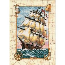 Counted Cross Stitch Kit Voyage At Sea Dimensions Gold Collection