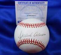 Hank Aaron PSA DNA Coa Autograph National League ONL Hand Signed Baseball