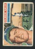 1956 Topps #3 Elmer Valo GVG Athletics 84465