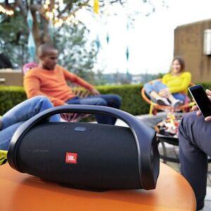 Brand New JBL Boombox 2 Portable Bluetooth Speaker - Waterproof Black (Wireless)