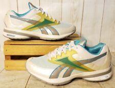 REEBOK EasyTone Walking Shoe White/Teal Green J16468 Women Sz 6.5 M