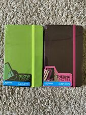 Small Notebooks Glow In The Dark, Thermo Notes
