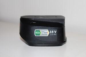 Black battery holder / cover for Bosch 1600Z0003U 18v