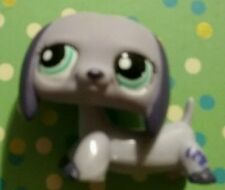 Littlest Pet Shop Purple Dachshund  Blue Eyes #1367 Cute