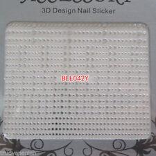 Decorazioni adesivo senza marca argento per unghie