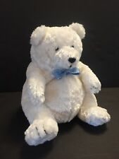 Mary Meyer Plush Polar Bear Igloo White Blue Two In One Stuffed Animal Home