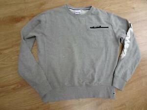 MONEY mens grey sweatshirt jumper MEDIUM EXCELLENT COND