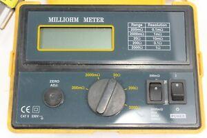 Extech 380460 Milliohm Meter L399347B-DK
