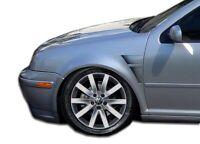 Duraflex GT Concept Fenders - 2 Piece for 1999-2004 Jetta