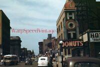 Nashville Tennessee TN 8th Avenue South 1948 original Kodachrome 8 x 12 photo