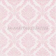 Servietten Elegant Baby rosa 20 Stk 25x25 cm Mädchen Tissue Geburt Taufe Party