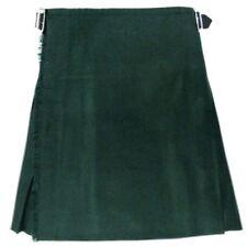 Vêtements traditionnels d'Europe kilts verts de Écosse