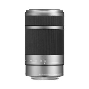 Sony E 55-210mm F4.5-6.3 Lens for Sony E-Mount Cameras Silver