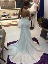 Elegant Luxurious Detailed Wedding Dress Off White Color Regular Price 2800$