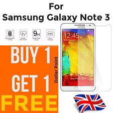 100% genuine Tempered Glass screen protector For Samsung Galaxy Note 3