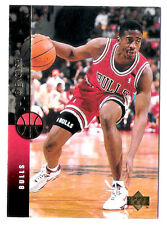 Jo Jo English 1994 Upper Deck Chicago Bulls insert Basketball Card no.59