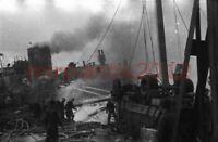 Foto-Negativ, Hafen von Brest, engl. Fliegerangriff im Aprill 1941, 5026-818/51