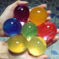 60 Stück Wasserperlen in Bunt - Gelperlen, Orbeez, Gelmurml, Jelly
